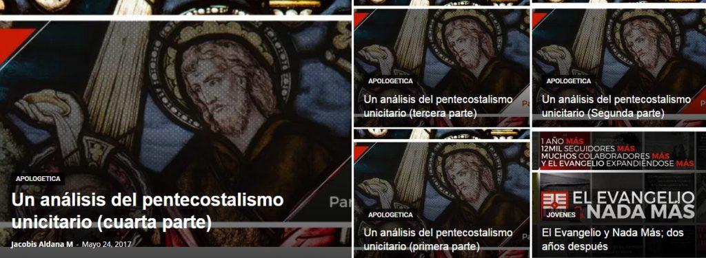 oneness pentecostalism spanish banner