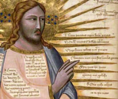 pacino di bonaguida christ enthroned