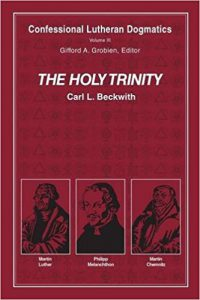 (The Holy Trinity is not 3 Lutherans, you jokers. That happens to be the series cover.)