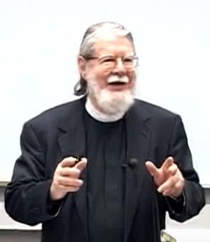 Robert Jenson lecturing