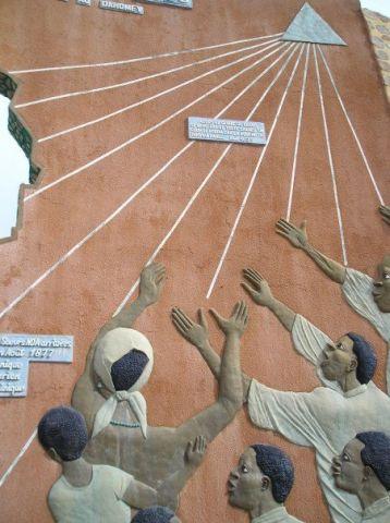 Benin Trinity monument