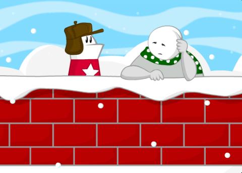 Decemberween wall