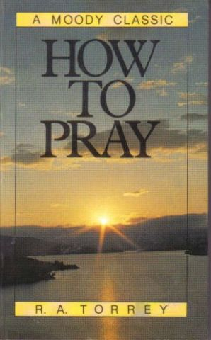 How to Pray book cover
