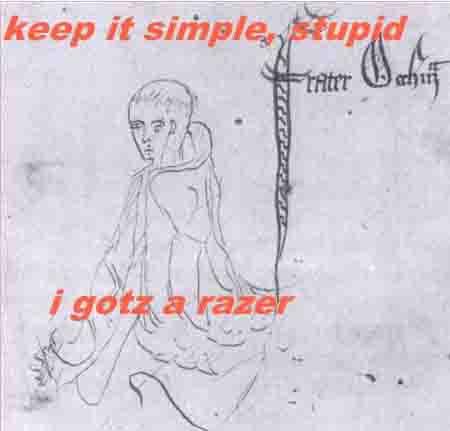 LOL William of Ockham