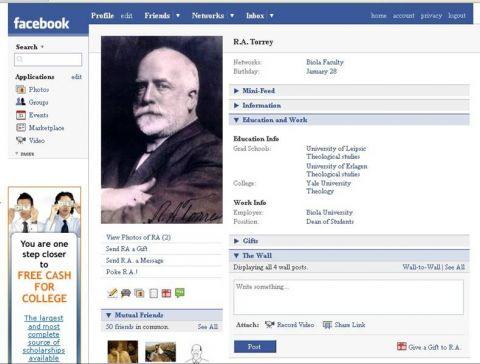 Torrey Facebook