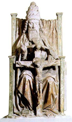 Trinity statue at Legion