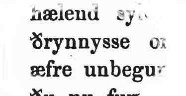 anglo saxon thrynnesse