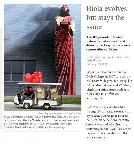 biola la times