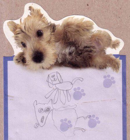 puppy sprawl notepad 1