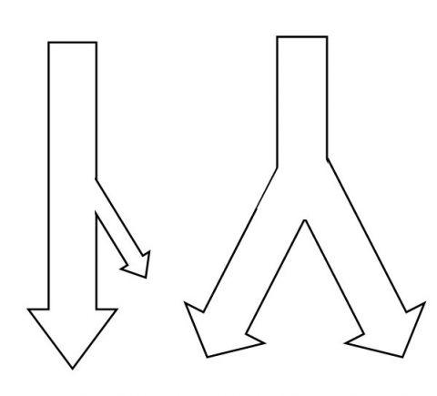 split or splits
